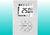 TAS500 Series-Full Configurable Digital Time PI Floating Control Thermostats for 2-Pipe Controls product photo